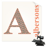 Fox Trail Floral Sublimation Transfer (Personalized)
