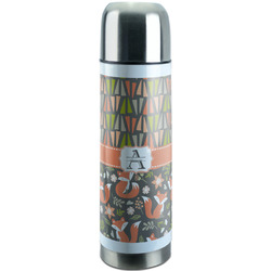 Fox Trail Floral Stainless Steel Thermos (Personalized)