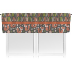 Fox Trail Floral Valance (Personalized)