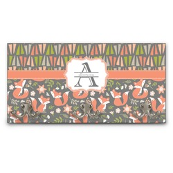 Fox Trail Floral Wall Mounted Coat Rack (Personalized)
