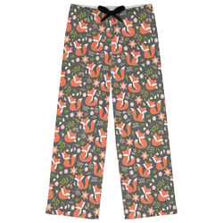 Fox Trail Floral Womens Pajama Pants (Personalized)