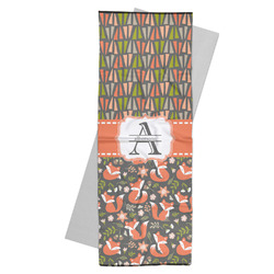 Fox Trail Floral Yoga Mat Towel (Personalized)