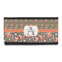 Fox Trail Floral Leatherette Ladies Wallet (Personalized)