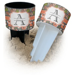 Fox Trail Floral Beach Spiker Drink Holder (Personalized)