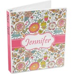 Wild Garden 3-Ring Binder (Personalized)
