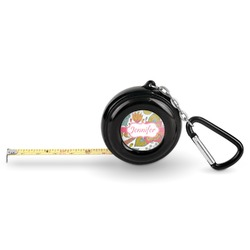 Wild Garden Pocket Tape Measure - 6 Ft w/ Carabiner Clip (Personalized)