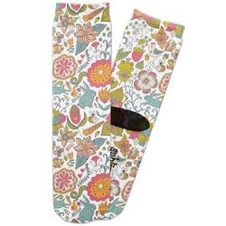 Wild Garden Adult Crew Socks (Personalized)