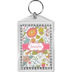 Wild Garden Bling Keychain (Personalized)