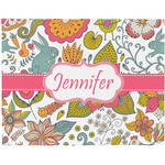 Wild Garden Placemat (Fabric) (Personalized)