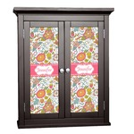 Wild Garden Cabinet Decal - Custom Size (Personalized)