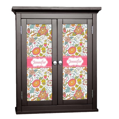 Wild Garden Cabinet Decal - Large (Personalized)