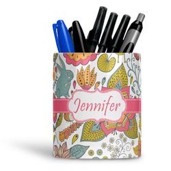Wild Garden Ceramic Pen Holder
