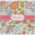 Wild Garden Ceramic Tile Hot Pad (Personalized)