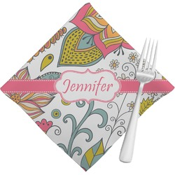 Wild Garden Napkins (Set of 4) (Personalized)