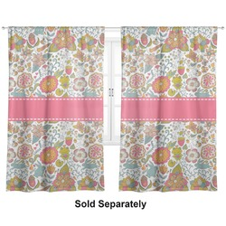 "Wild Garden Curtains - 20""x84"" Panels - Lined (2 Panels Per Set) (Personalized)"