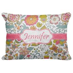 "Wild Garden Decorative Baby Pillowcase - 16""x12"" (Personalized)"