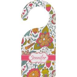 Wild Garden Door Hanger (Personalized)