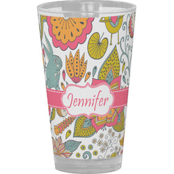 Wild Garden Drinking / Pint Glass (Personalized)