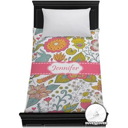 Wild Garden Duvet Cover - Twin (Personalized)