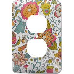 Wild Garden Electric Outlet Plate (Personalized)