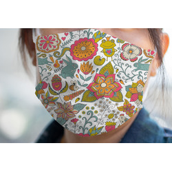 Wild Garden Face Mask Cover (Personalized)