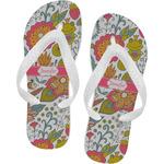 Wild Garden Flip Flops (Personalized)