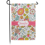 Wild Garden Garden Flag - Single or Double Sided (Personalized)