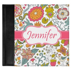 Wild Garden Genuine Leather Baby Memory Book (Personalized)