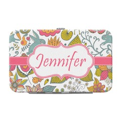 Wild Garden Genuine Leather Small Framed Wallet (Personalized)