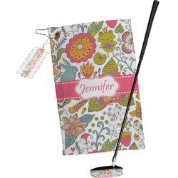 Wild Garden Golf Towel Gift Set (Personalized)