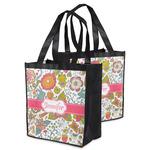 Wild Garden Grocery Bag (Personalized)