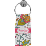 Wild Garden Hand Towel - Full Print (Personalized)