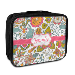 Wild Garden Insulated Lunch Bag (Personalized)