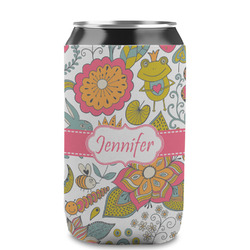 Wild Garden Can Sleeve (12 oz) (Personalized)