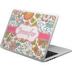 Wild Garden Laptop Skin - Custom Sized (Personalized)