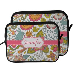 Wild Garden Laptop Sleeve / Case (Personalized)