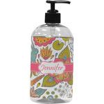 Wild Garden Plastic Soap / Lotion Dispenser (Personalized)