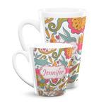 Wild Garden Latte Mug (Personalized)
