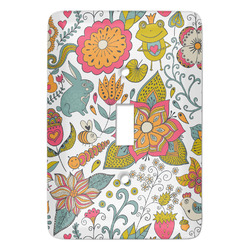 Wild Garden Light Switch Covers (Personalized)