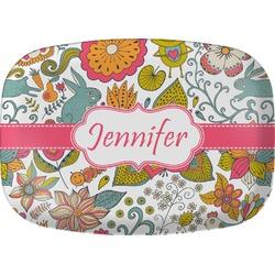Wild Garden Melamine Platter (Personalized)