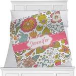 Wild Garden Minky Blanket (Personalized)