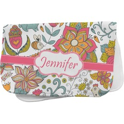 Wild Garden Burp Cloth (Personalized)