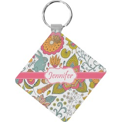 Wild Garden Diamond Key Chain (Personalized)