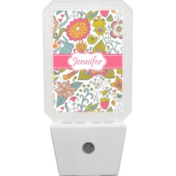 Wild Garden Night Light (Personalized)