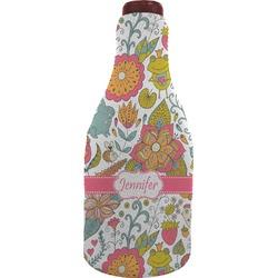 Wild Garden Wine Sleeve (Personalized)