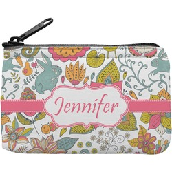 Wild Garden Rectangular Coin Purse (Personalized)
