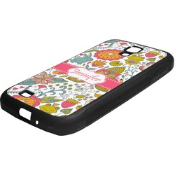 Wild Garden Rubber Samsung Galaxy 4 Phone Case (Personalized)