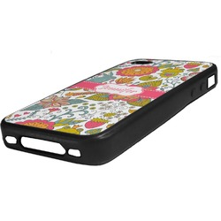 Wild Garden Rubber iPhone Case 4/4S (Personalized)