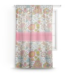 Wild Garden Sheer Curtains (Personalized)