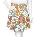 Wild Garden Skater Skirt (Personalized)